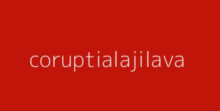 coruptia jilava